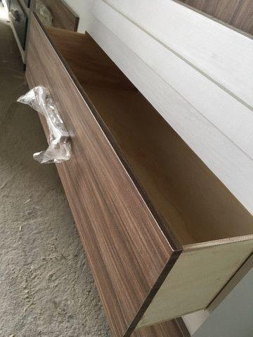 Guarda roupa 3 portas corrediça de madeira - Foto 4