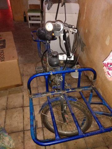 Bicicleta motorizada com documento