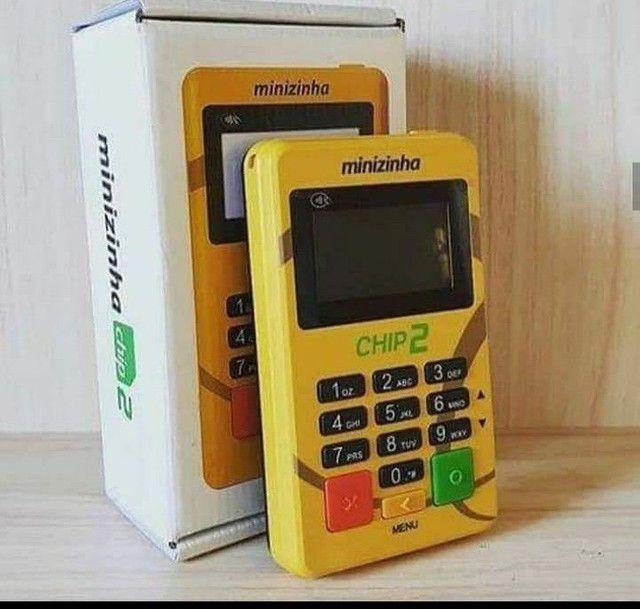 Máquininha de cartão com Chip 2 - Foto 6