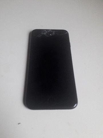 Iphone 7 128gb preto matte + Smart Battery/Capa Carregadora Apple