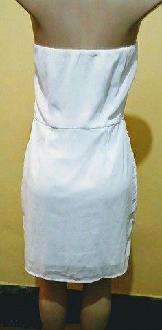 Vestido branco Folic novo. - Foto 3