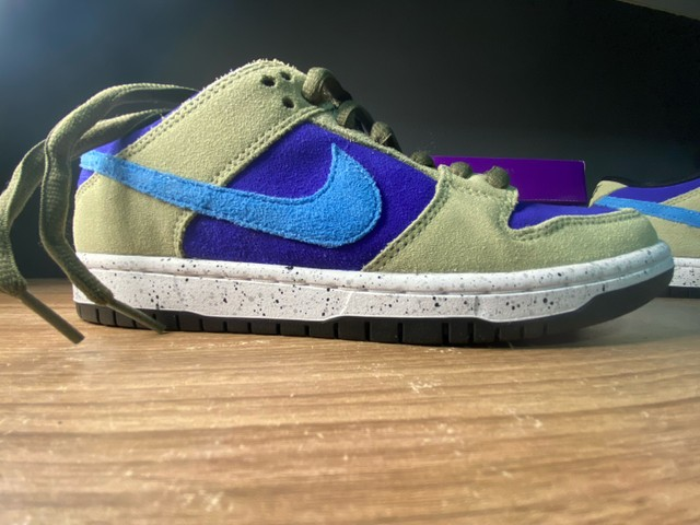 Tênis Nike dunk low celadon  - Foto 2