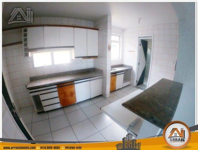 Apartamento com 3 dormitórios à venda, 118 m² por R$ 300.000,00 - Vila União - Fortaleza/C - Foto 9