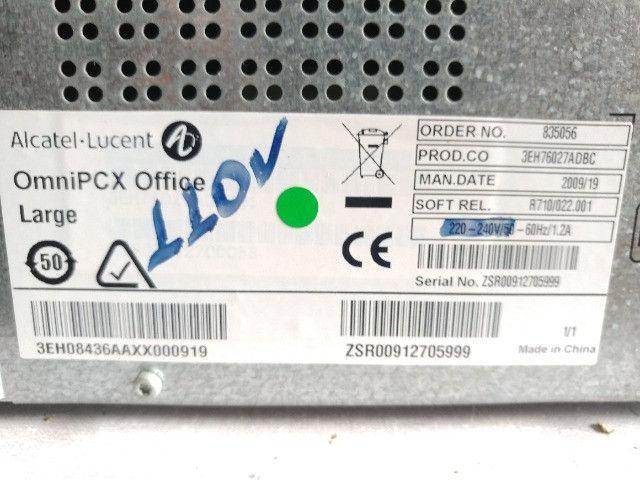 Central Omnipcx Office Com Módulos Alcatel Telefone