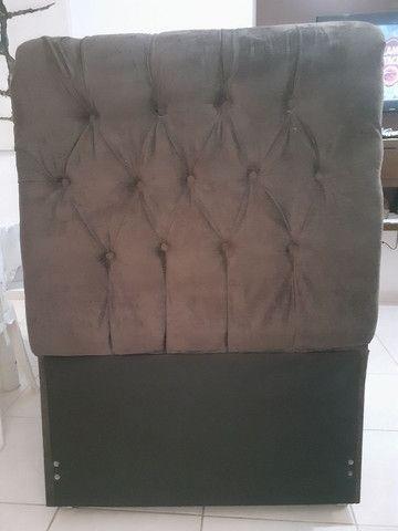 Cabeceira de cama de solteiro (box)