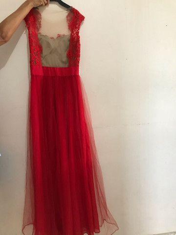 Vestido de Festa Vermelho - Foto 3
