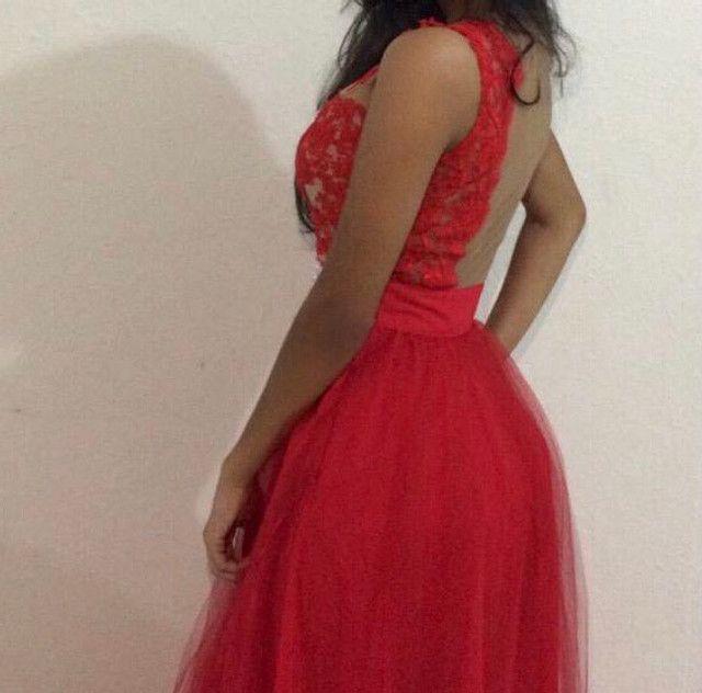 Vestido de Festa Vermelho - Foto 6