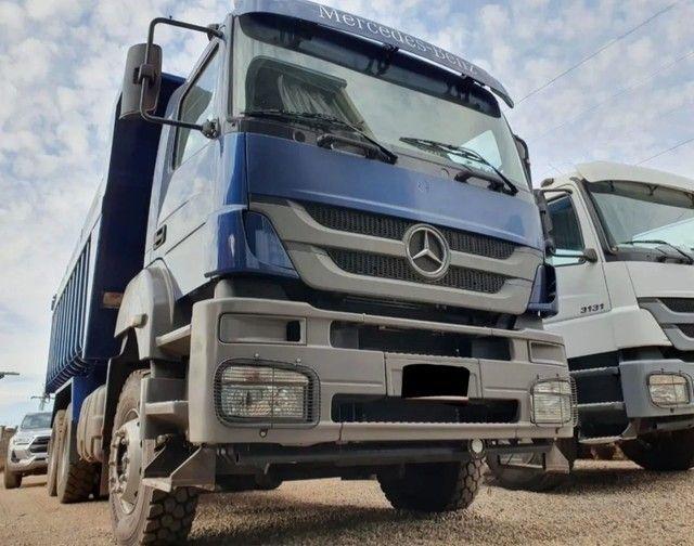 Caminhão 3344 6x4 CAÇAMBA TRAÇADO
