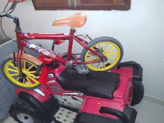 Bicicleta e moto infantil  - Foto 4