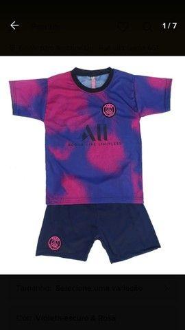 Uniforme PSG Infantil