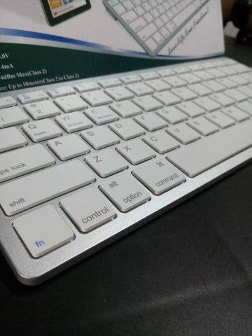 Teclado Bluetooth para IPad Tablet e celular - Foto 3