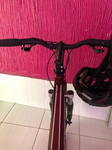 Bicicleta Caloi Supra Freio A Disco - Foto 5
