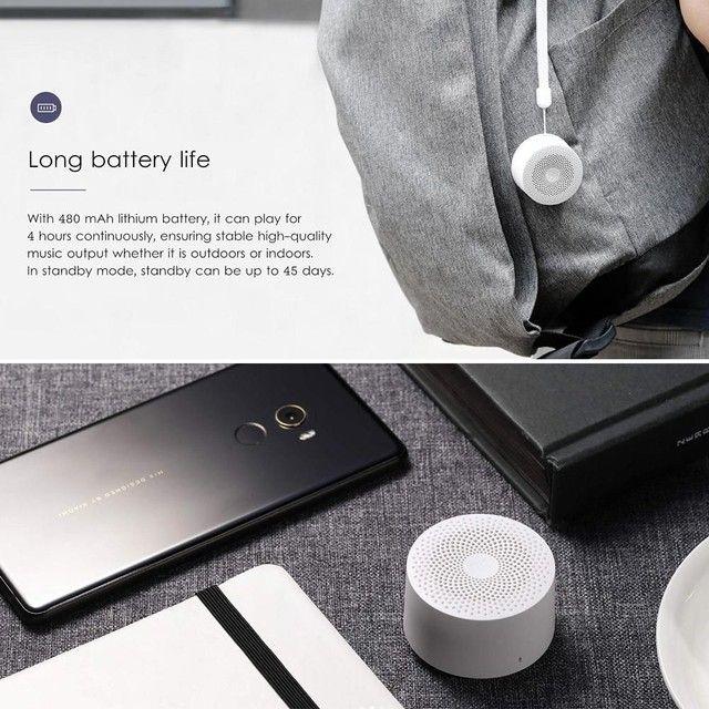 Caixa de som Bluetooth XIAOMI Mini (Qualidade excepcional) - Foto 3