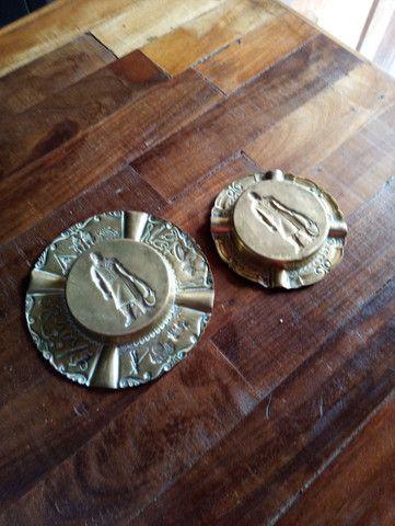 Porta cinzas bronze  - Foto 4