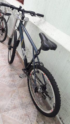 Bicicleta gt so hoje baixei o preco metade do valor da nota - Foto 4