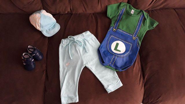 Body bebê calça casaquinho - Foto 5
