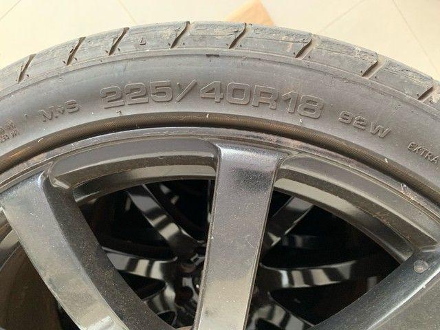 Rodas 18 com pneus - Foto 4