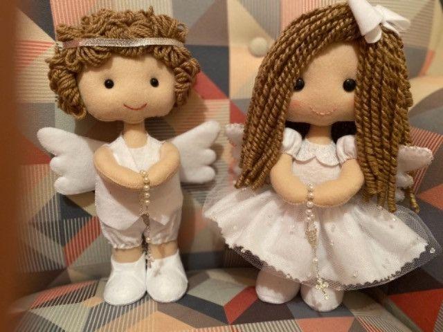 Enfeites Batizado - Anjos - Foto 2