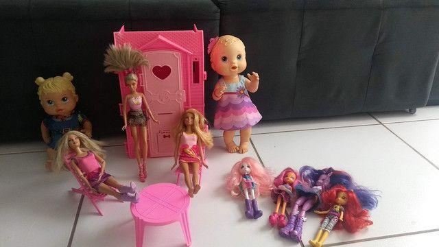 Lote bonecas - Foto 4