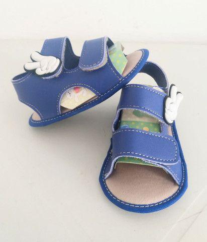 Sapatinhos para bebê/sandálias linha baby - Foto 6
