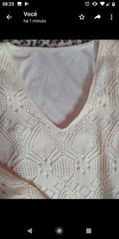 Vestido de tricô - Foto 2