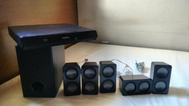 Home Theater Philips com DVD Player