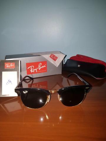 97549a5d337ff ... where can i buy Óculos ray ban clubmaster rb3016 w0365 clássico preto  dourado 6140d 88ae2