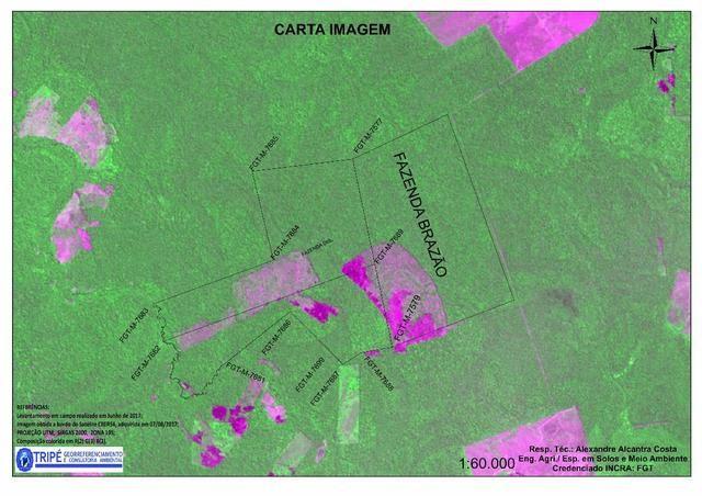 Grande Área de terra com 1400 hectare