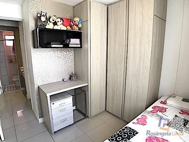 Apartamento com 3 dormitórios à venda, 70 m² por r$ 375.000,00 - engenheiro luciano cavalc - Foto 16
