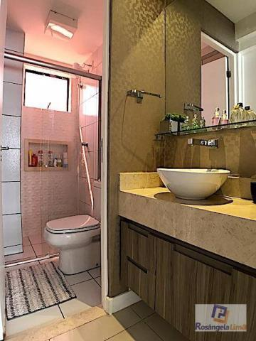 Apartamento com 3 dormitórios à venda, 70 m² por r$ 375.000,00 - engenheiro luciano cavalc - Foto 18