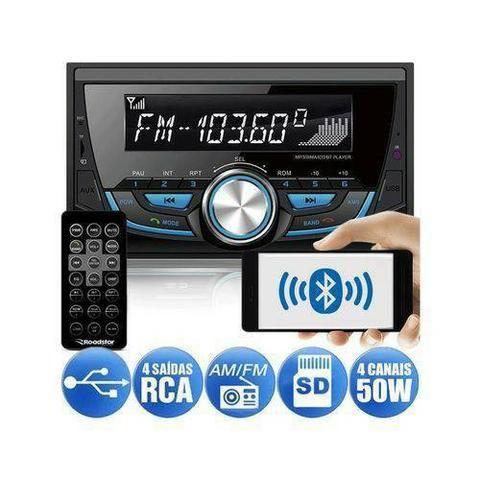 Rádio MP3 Bluetooth Double Din