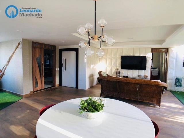 Apartamento Cobertura com 4 dormitórios à venda, 346 m² por R$ 2.500.000 - Meireles - Fort - Foto 5