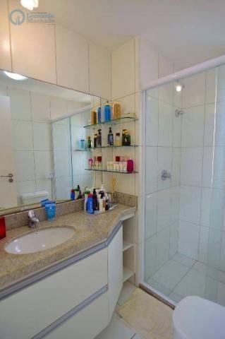 Apartamento com 2 dormitórios à venda, 70 m² por R$ 410.000,00 - Guararapes - Fortaleza/CE - Foto 12