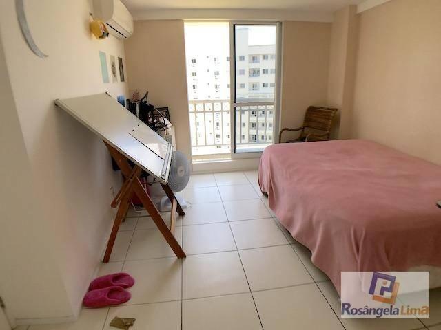 Apartamento com 2 suítes, sendo uma com closet à venda, por r$ 295.000 - cambeba - fortale