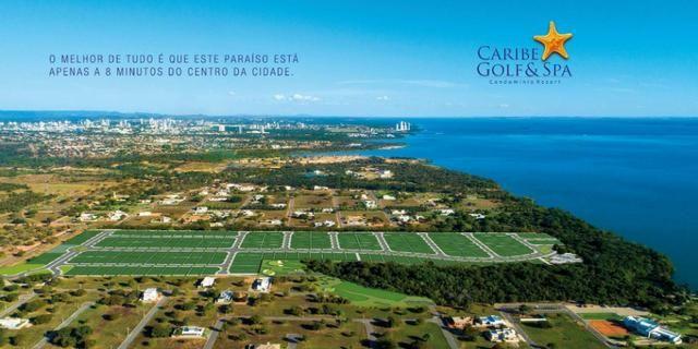 Caribe Golf & Spa Condomínio Resort - Lotes a partir de 600 m² - Beira Lago - Foto 7