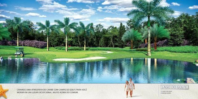 Caribe Golf & Spa Condomínio Resort - Lotes a partir de 600 m² - Beira Lago - Foto 18