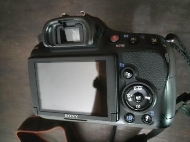 Vendo câmera Sony Alpha a58 - Foto 2