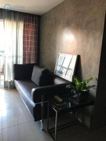 Apartamento à venda, 105 m² por R$ 546.000,00 - Meireles - Fortaleza/CE - Foto 3