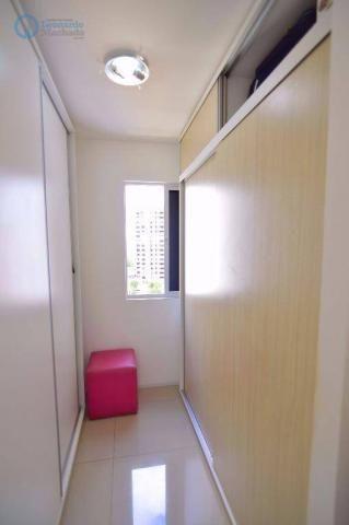 Apartamento com 2 dormitórios à venda, 70 m² por R$ 410.000,00 - Guararapes - Fortaleza/CE - Foto 9