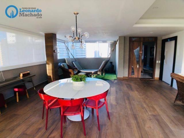 Apartamento Cobertura com 4 dormitórios à venda, 346 m² por R$ 2.500.000 - Meireles - Fort - Foto 8