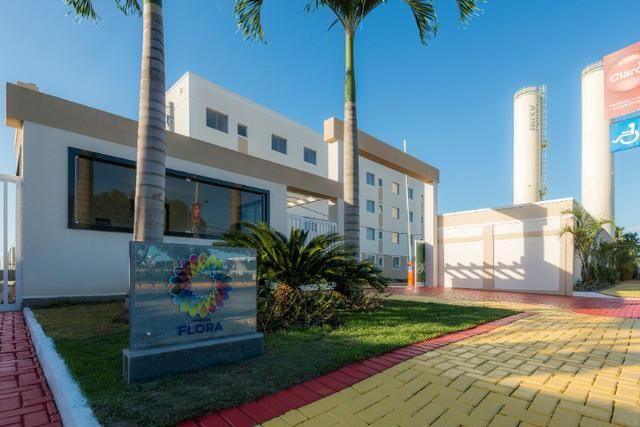 Apartamento no sim - parque flora - térreo c/ área excedente - R$: 750,00