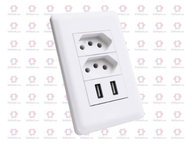 Tomada USB Carregador Celular - Foto 5