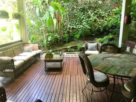 Casa para alugar, 700 m² por r$ 18.000,00/mês - jardim botânico - rio de janeiro/rj