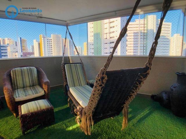 Apartamento Cobertura com 4 dormitórios à venda, 346 m² por R$ 2.500.000 - Meireles - Fort - Foto 7
