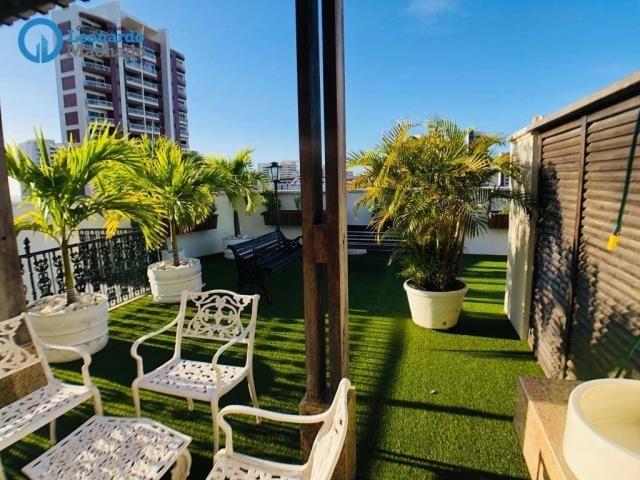 Apartamento Cobertura com 4 dormitórios à venda, 346 m² por R$ 2.500.000 - Meireles - Fort - Foto 4