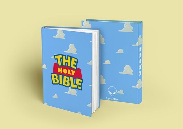 Bíblias star wars, toy story, senhor dos anéis, friends