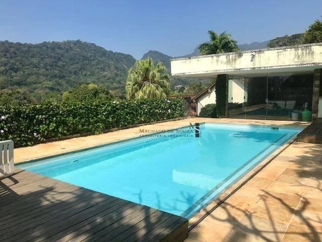 Casa para alugar, 700 m² por r$ 18.000,00/mês - jardim botânico - rio de janeiro/rj - Foto 13