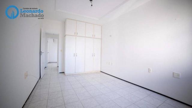 Apartamento com 3 dormitórios à venda, 99 m² por R$ 350.000 - Cocó - Fortaleza/CE - Foto 7