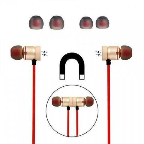 Fone Bluetooth Auricular Esportivo Musica e Atender Ligações - Bluetooth 01 - Foto 2