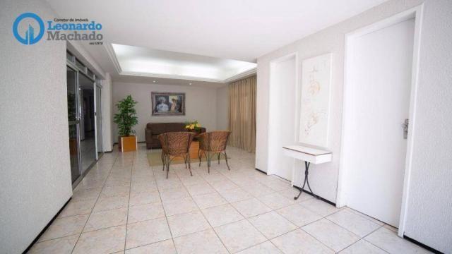 Apartamento com 3 dormitórios à venda, 99 m² por R$ 350.000 - Cocó - Fortaleza/CE - Foto 16